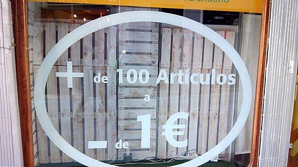 Imagen + de 100 artuculos a - de 1 euro