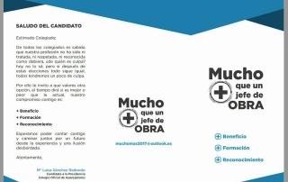Elecciones al colegio de Aparejadores de Madrid