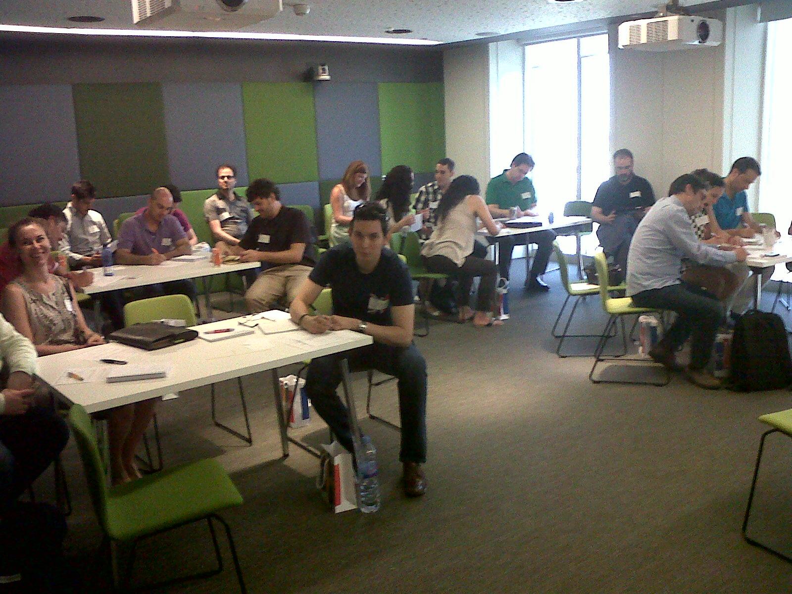 Curso de formación para empleados de Google